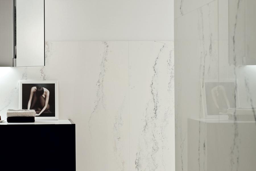Ariostea - Bagno marmo bianco ...